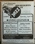 Highlights in Jazz Concert 060 - Living Legends