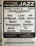 Highlights in Jazz Concert 071 - Fats, Duke and James P.