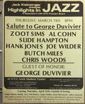 Highlights in Jazz Concert 076 - Salute to George Duvivier