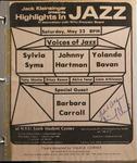 Highlights in Jazz Concert 078 - Voices of Jazz
