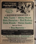 Highlights in Jazz Concert 083 - Masters of Modern Jazz