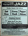 Highlights in Jazz Concert 088 - Saxophone Supreme