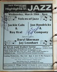 Highlights in Jazz Concert 092 - Voices of Jazz