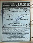 Highlights in Jazz Concert 092 - Voices of Jazz