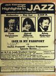 Highlights in Jazz Concert 093 - Jazz is My Passport