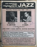 Highlights in Jazz Concert 103 - A Concert for Zoot