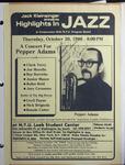 Highlights in Jazz Concert 112 - A Concert for Pepper Adams