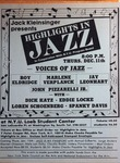 Highlights in Jazz Concert 113 - Voices of Jazz