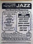 Highlights in Jazz Concert 118 - Be Bop Spoken Here