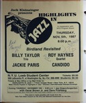 Highlights in Jazz Concert 120 - Birdland Revisited