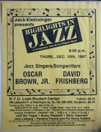 Highlights in Jazz Concert 121 - Jazz Singers/Songwriters
