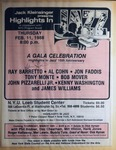 Highlights in Jazz Concert 123 - 15th Anniversary Concert