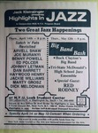 Highlights in Jazz Concert 125 - Satch and Fats Revisited