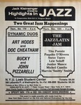 Highlights in Jazz Concert 129 - Dynamic Duos