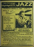 Highlights in Jazz Concert 132 - Salute to Red Rodney