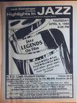 Highlights in Jazz Concert 133 - Jazz Legends on Film Part VI