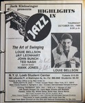 Highlights in Jazz Concert 135 - The Art of Swing