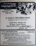 Highlights in Jazz Concert 139 - 17th Anniversary Concert - A Gala Celebration
