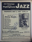 Highlights in Jazz Concert 142 - Salute to Jimmy Heath