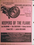 Highlights in Jazz Concert 146 - Keepers of the Flame