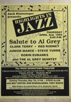 Highlights in Jazz Concert 157 - Salute to Al Grey