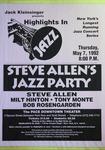 Highlights in Jazz Concert 158 - Steve Allen's Jazz Party