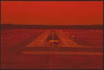 Jacksonville Internatinal Airport Runway Lights 12 by Lawrence V. Smith