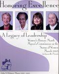 2003 Women's History Month