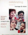 2001 Women's History Month