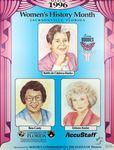 1996 Women's History Month