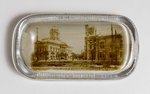 Paperweight: Courthouse and Armory, Jacksonville, Fla; 1900-1930