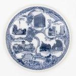 Plate: Jacksonville Sightseeing Souvenir Plate, Jacksonville, Florida; 1900-1930's