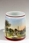 Cup: Hemming Park Decorative Mug, Jacksonville, Florida; 1900-1920's
