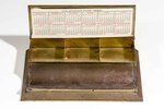 Open Metal Box and Holder, the Grover Steward Drug Company; Jacksonville, Fla; 1920