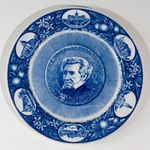Plate: Views of Jacksonville, Andrew Jackson, First Governor of Florida, Jacksonville, Florida;