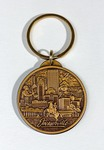 Key Chain: Mayor Tommy Hazouri Souvenir Key Chain, Jacksonville, Florida;