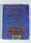 Playing Card Deck: Congress Playing Cards, The H. & W. B. Drew Co., Jacksonville, Florida;