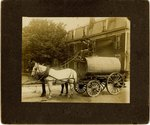 Mounted Photograph: White Lighting Beer Trolley, Jacksonville, Florida; January, 1898