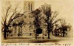 Photograph: St. Johns Church Jacksonville, Florida written on front, St Johns Ch. Jax, 1918
