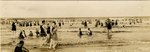 Photograph: Panoramic photo captioned in the surf, Jacksonville Beach, Florida; 1925
