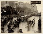 Photograph: Parade with Franklin D. Roosevelt, Jacksonville, Florida; February 7, 1933