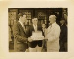 Photograph: Mayor Alsop with group, Jacksonville, Florida; August 30, 1948