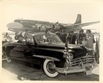 Photograph: Group of (3) photographs of President Truman Motorcade, Jacksonville, Florida; 1949