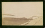 Mounted Photograph: Railroad from Jacksonville to Mayport, Florida; 1890's
