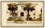Photograph: Jacksonville courthouse with Court House Jacksonville, Fla written on reverse; 1902-1958