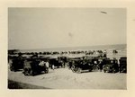 Photograph: Pablo Beach with vehicles, Jacksonville, Florida 1900-1912