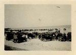 Photograph: Pablo Beach with vehicles, Jacksonville, Florida 1900-1912