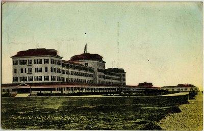 Postcard: Continental Hotel, Atlantic Beach, Florida