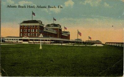 Postcard: Atlantic Beach Hotel, Atlantic Beach, Fla