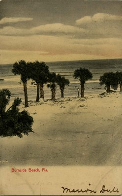 Postcard: Burnside Beach, Florida
